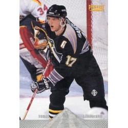 1996-97 Pinnacle Premium Stock c. 156 Tomas Sandstrom PIT