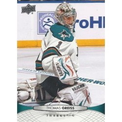 2011-12 Upper Deck c. 300 Thomas Greiss SJS