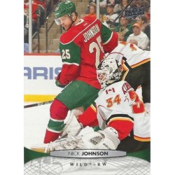 2011-12 Upper Deck c. 366 Nick Johnson MIN