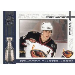 2003-04 Pacific Quest for the Cup c. 005 Slava Kozlov ATL