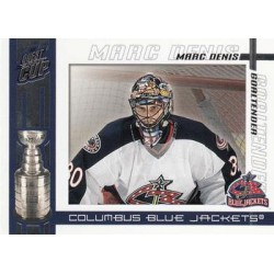 2003-04 Pacific Quest for the Cup c. 029 Marc Denis CBS