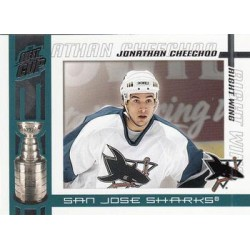 2003-04 Pacific Quest for the Cup c. 088 Jonathan Cheechoo SJS