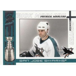 2003-04 Pacific Quest for the Cup c. 089 Patrick Marleau SJS