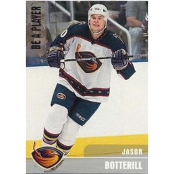 1999-00 Be A Player Silver 0577/1000 c. 252 Jason Botterill ATL