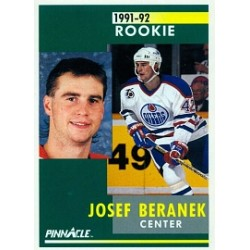 1991-92 Pinnacle c. 303 Beranek Josef EDM