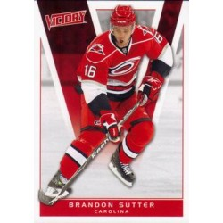 2010-11 Victory c. 029 Brandon Sutter CAR