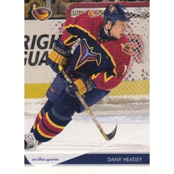 2003-04 In the Game Toronto Star c. 004 Dany Heatley ATL