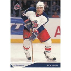 2003-04 In the Game Toronto Star c. 015 Rick Nash CBS