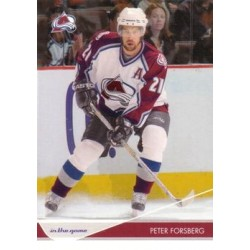 2003-04 In the Game Toronto Star c. 024 Peter Forsberg COL
