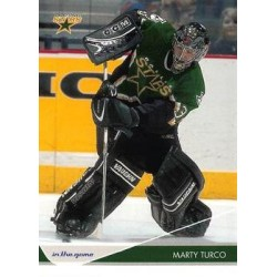 2003-04 In the Game Toronto Star c. 027 Marty Turco DAL