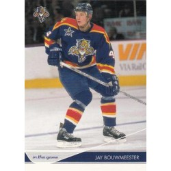 2003-04 In the Game Toronto Star c. 039 Jay Bouwmeester FLO