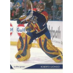 2003-04 In the Game Toronto Star c. 041 Roberto Luongo FLO
