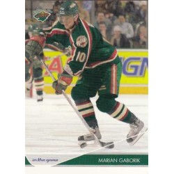 2003-04 In the Game Toronto Star c. 046 Marian Gaborik MIN