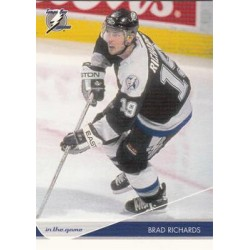 2003-04 In the Game Toronto Star c. 082 Brad Richards TBL