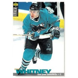 1995-96 UD Collectors Choice c. 225 Ray Whitney SJS
