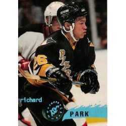 1995-96 Topps Stadium Club c. 208 Richard Park PIT