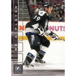 2001-02 Be a Player Memorabilia c. 017 Brad Richards TBL