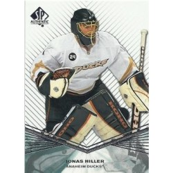 2011-12 SP Authentic c. 044 Jonas Hiller