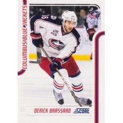 2011-12 Score c. 142 Derick Brassard CBS
