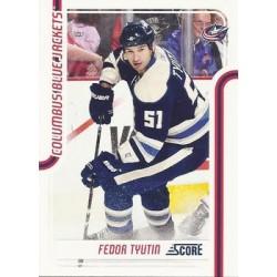 2011-12 Score c. 152 Fedor Tyutin CBS