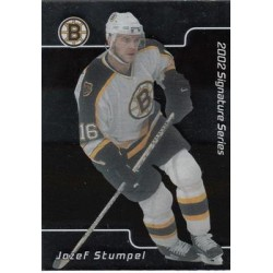 2001-02 Be a Player Signature Series c. 116 Jozef Stumpel BOS