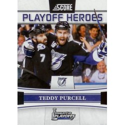 2011-12 Score Playoff Heroes c. 008 Teddy Purcell TBL
