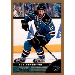 2013-14 Score Gold c. 417 Joe Thornton SJS