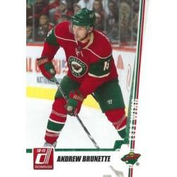 2010-11 Donruss c. 215 Andrew Brunette MIN