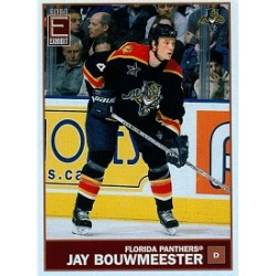 2003-04 Pacific Exhibit Yellow Back c. 062 Bouwmeester Jay FLO