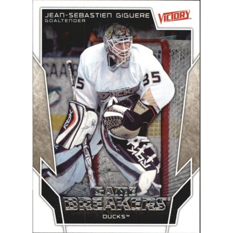 2007-08 Victory Game Breakers c. GB10 Jean-Sebastien Giguere