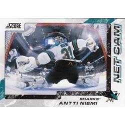 2011-12 Score Net Cam c. 11 Antti Niemi SJS