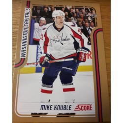 2011-12 Score Gold c. 463 Mike Knuble WSH