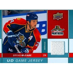 2009-10 Upper Deck Game Jersey c. GJ-MC McCabe Bryan FLO