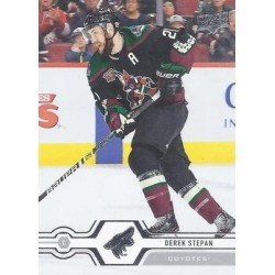 2019-20 Upper Deck c. 155 Derek Stepan ARI