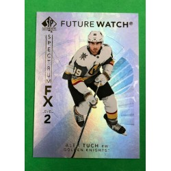 2017-18 SP Authentic Spectrum FX Bounty Future Watch Level 2 c. S-081 Alex Tuch VEG
