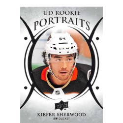 2018-19 Upper Deck Rookie Portraits c. P-86 Kiefer Sherwood