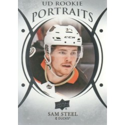 2018-19 Upper Deck Rookie Portraits c. P-79 Sam Steel