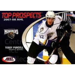 2007-08 AHL Top Prospects c. 022 Teddy Purcell