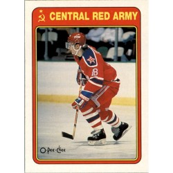 1990-91 O-Pee-Chee Central Red Army c. 19R Sergei Fedorov