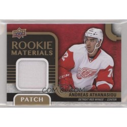 2015-16 Upper Deck Rookie Materials Patch 05/25 c. RM-AA Andreas Athanasiou DET