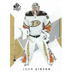 2018-19 SP Authentic c. 022 John Gibson