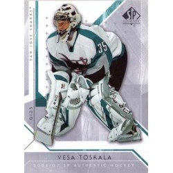 2006-07 SP Authentic c. 019 Vesa Toskala SJS