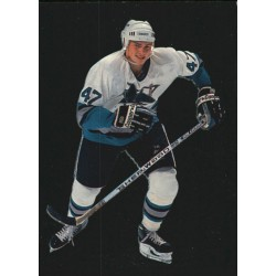1995-96 Parkhurst International Emerald Ice c. 187 Viktor Kozlov SJS
