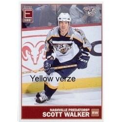 2003-04 Pacific Exhibit Yellow Back c. 083 Walker Scott NAS