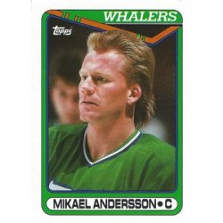 1990-91 Topps c. 035 Mikael Andersson HFD