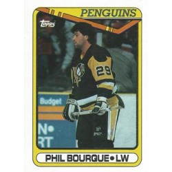 1990-91 Topps c. 041 Phil Bourque PIT