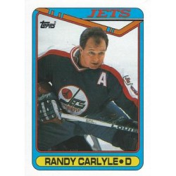 1990-91 Topps c. 051 Randy Carlyle WIN