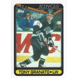 1990-91 Topps c. 062 Tony Granato LAK