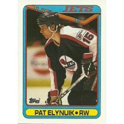 1990-91 Topps c. 071 Pat Elynuik WIN