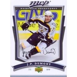 2007-08 MVP c. 216 Dumont J.P NAS
